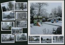 1-2018 - neige dans le village 5 02 2018 - 6 02 182