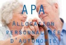 Allocation personnalisée d'autonomie (APA)